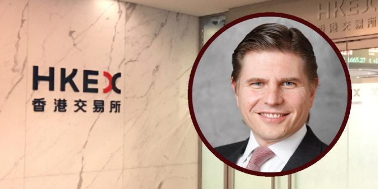 歐冠昇將出任港交所行政總裁。(Shutterstock,摩通私人銀行)