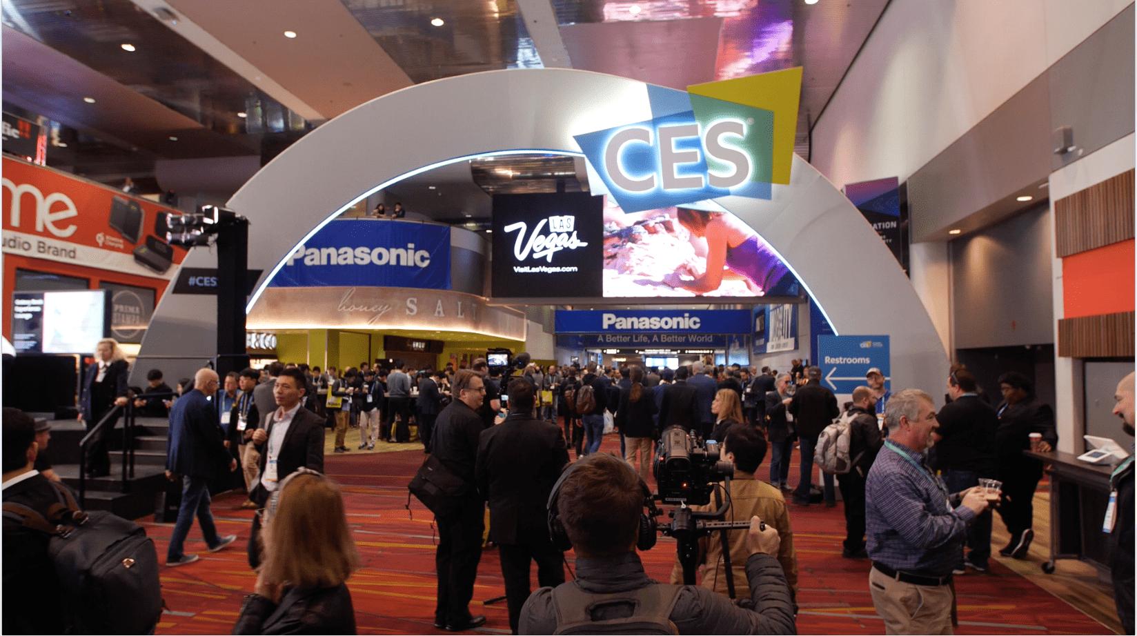 圖一:美國消費電子展(CES)是重點科技盛事,近年每次都能吸引數千電子產品公司參展。(CES大會)