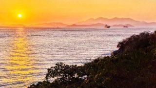 夕照東南丫海峽 Sunset at East Lamma Channel