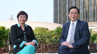 林健鋒:冀香港平息政爭 齊心發展經濟