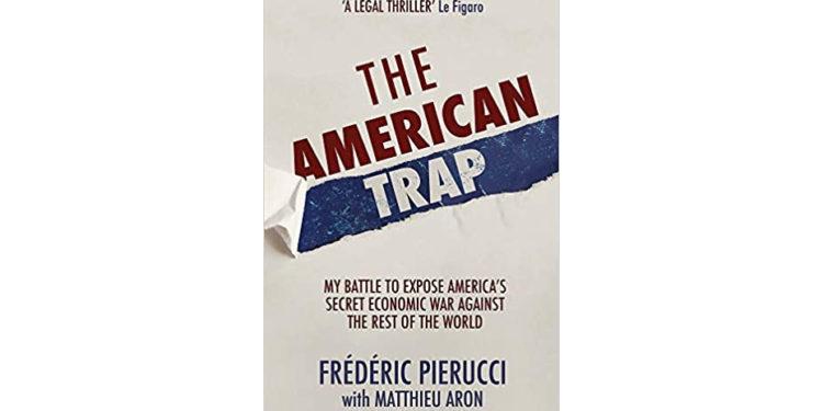 皮耶魯齊的自傳《美國陷阱》。(Amazon)
