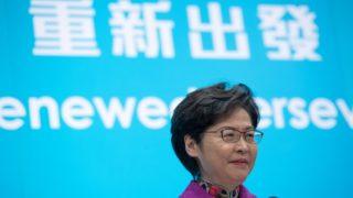 林鄭月娥:先堵住選舉制度漏洞   感謝中央為香港解困