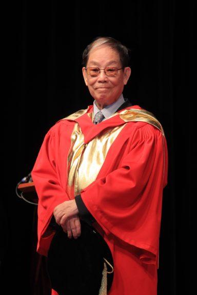 顧嘉煇曾經獲香港演藝學院及香港中文大學頒授榮譽博士銜。(香港中文大學)