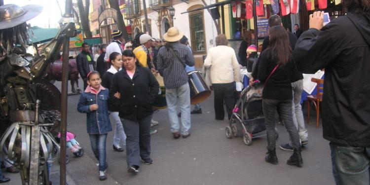 繽紛的保加旅遊文化區街道。
