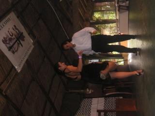 場內Tango表演。
