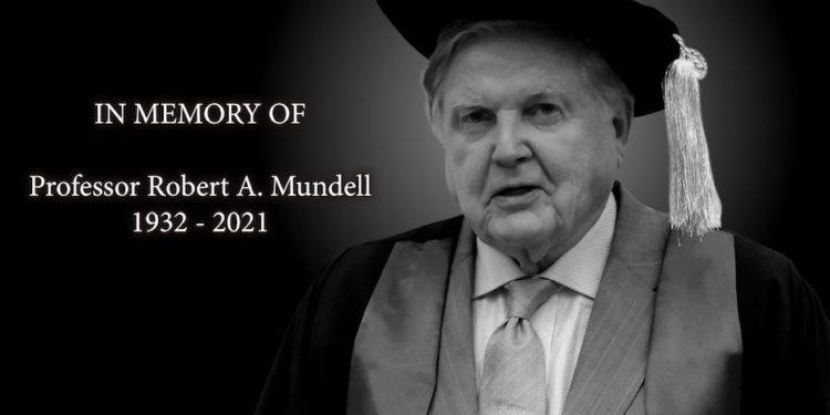 1999年諾貝爾經濟學獎得主兼香港中文大學博文講座教授蒙代爾教授(Professor Robert A. Mundell),周日(4/4)於義大利逝世。(圖片:香港中文大學提供)