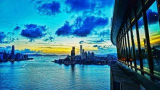 維港夕照 Sunset at Victoria Harbour