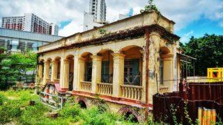荒廢的具革命歷史百年安老院 Deserted Century-old Senior Home with Revolutionary Past