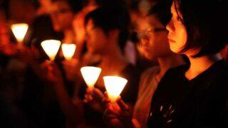 毋忘六四——燭光晚會  Cannot Forget – June 4 Vigil