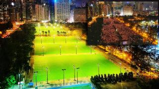 香港警方史無前例 封鎖維園以防止六四集會  Hong Kong Police Locked Down Victoria Park Unprecedently to Prevent June 4 Vigil