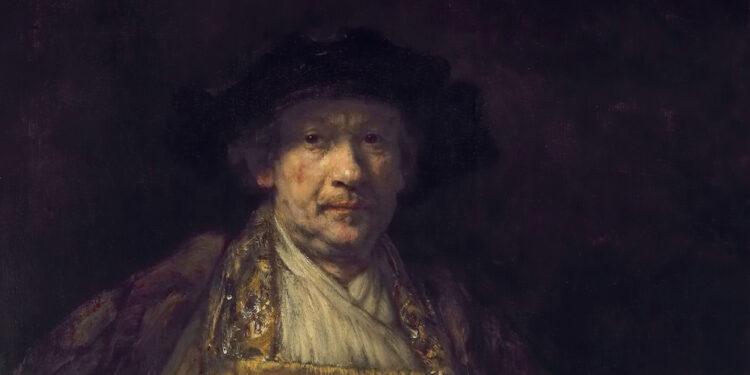 荷蘭黃金時代畫家多專攻一類畫種,倫勃朗是罕有的全才。圖為《自畫像》,倫勃朗,1658 (時52歲),帆布油畫,高133.7cm,寬103.8cm,紐約弗里克收藏館。Self Portrait, Rembrandt, Frick Collection, NYC.