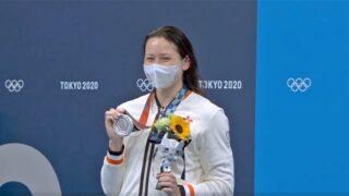 何詩蓓200米自由泳奪銀  香港游泳史上首面奧運獎牌
