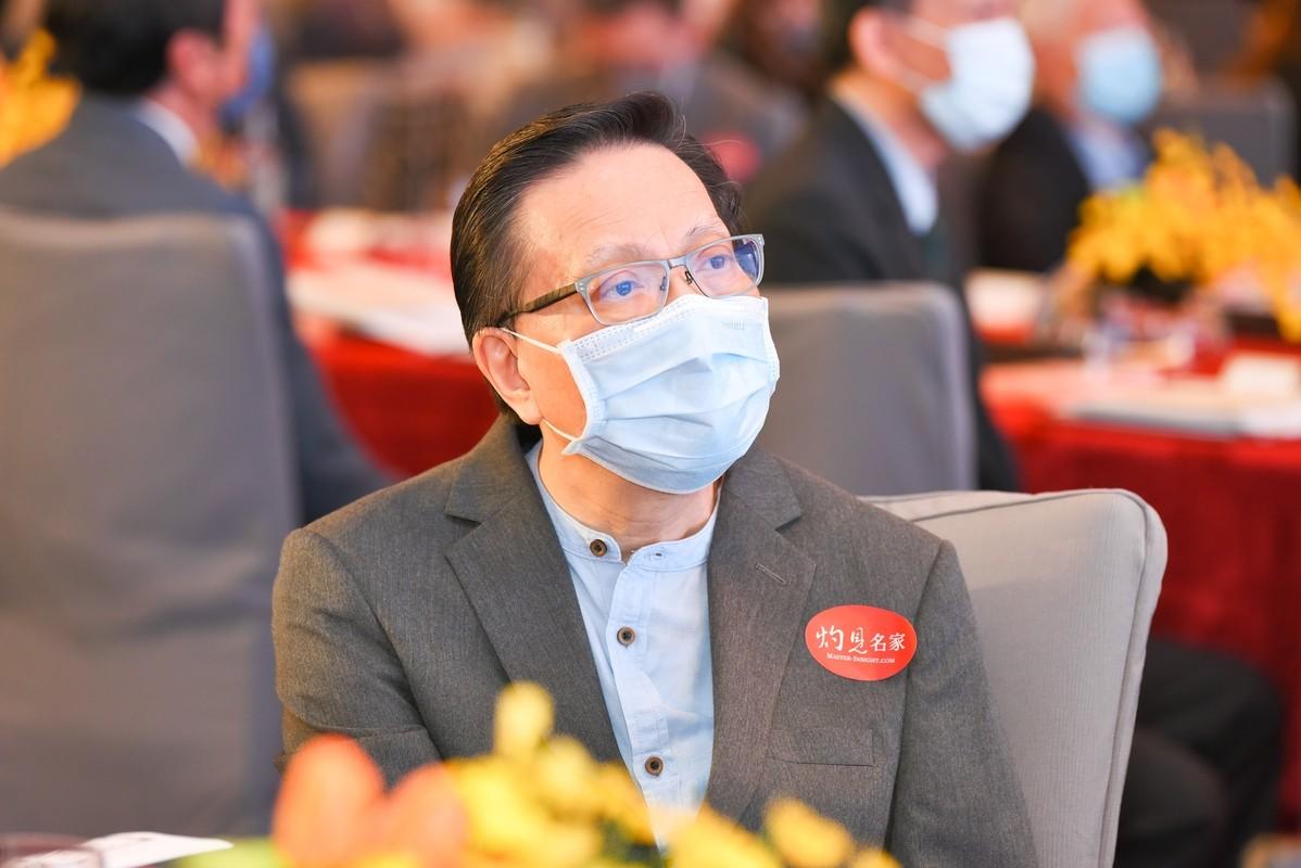 運輸及房屋局前局長、香港教育大學公共行政研究講座教授張炳良教授