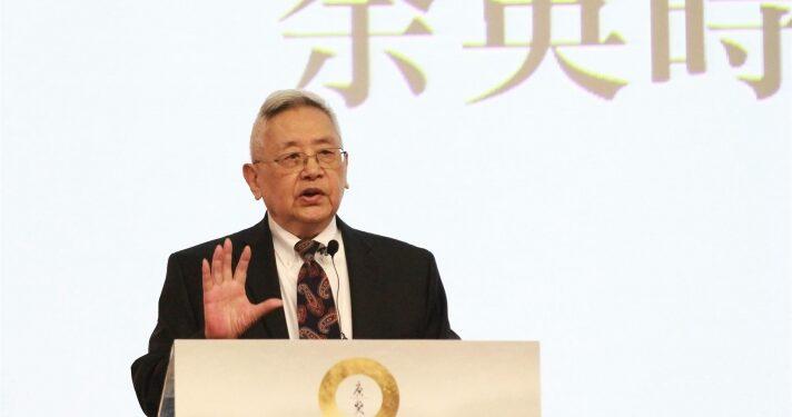 余英時是新亞第五任校長(1973-1975),新亞負責人。(唐獎網站圖片)