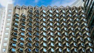 遨舍衛蘭軒酒店的幾何立面  Geometric Facade of OZO Wesley Hotel
