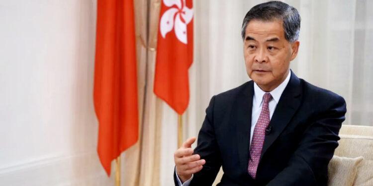 全國政協副主席、前特首梁振英指,香港再出發大聯盟準備搞一個研討會,讓香港社會知道前海、橫琴給予香港的新機遇。(直新聞圖片)