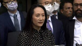 孟晚舟重獲自由返中國   兩名加拿大公民亦獲釋